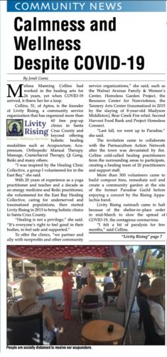 Aptos Times page 1